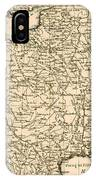France By Regions IPhone Case