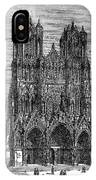 France: Reims Cathedral IPhone Case