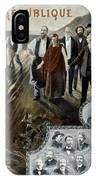 France: Socialism, 1900 IPhone Case