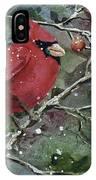 Franci's Cardinal IPhone Case