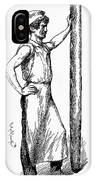 French Abolitionist, 1850s IPhone Case
