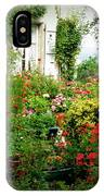 French Cottage Garden IPhone Case