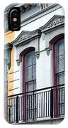 French Quarter Balconies IPhone Case