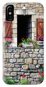 French Stone House IPhone Case
