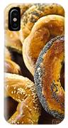 Fresh Bagels IPhone Case
