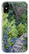 Fresh Young Redwoods On Mt Tamalpais IPhone Case