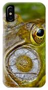 Frog Eye IPhone Case