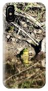 Frog King IPhone Case