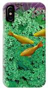 Froggery 2 With Koi IPhone Case