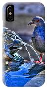 Frogs And A Pigeon IPhone Case