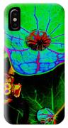 From The Psychedelic Garden IPhone Case