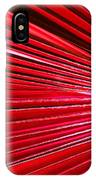 Frond Of Red IPhone Case