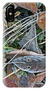 Frost Composition IPhone Case