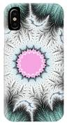 Frost Flower IPhone Case