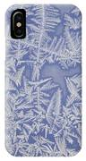 Frost On A Window IPhone Case