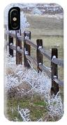 Frosted Fence IPhone Case
