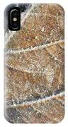 Frosted Leaf IPhone Case