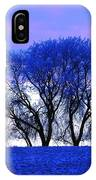 Frosty Trees IPhone Case