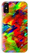 Frozen Colors IPhone Case
