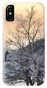 Frozen Trees IPhone Case