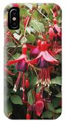 Fuchsia 'mrs Popple' IPhone Case