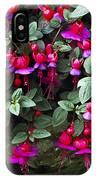Fuchsia 'swanley Gem' IPhone Case