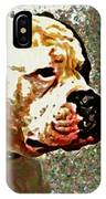 Funky Bulldog IPhone Case