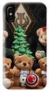 Fuzzy Bears 10 IPhone Case