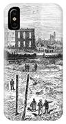 Galveston: Fire, 1877 IPhone Case