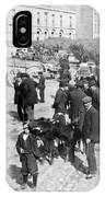 Galway Ireland - The Market At Eyre Square - C 1901 IPhone Case