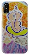 Ganesh Vandan IPhone Case