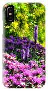Garden Flowers 3 IPhone Case