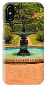Garden Fountain 03 IPhone Case