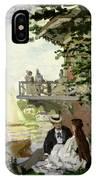 Garden House On The Zaan - Zaandam IPhone Case