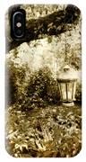 Garden Lantern IPhone Case