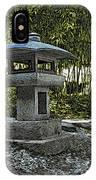 Garden Pagoda IPhone Case