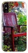 Garden Seating IPhone Case