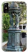 Garden Statuary In The French Quarter IPhone Case