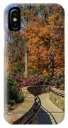 Garden Walk Way IPhone Case