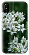 Garlic Chive Blooms IPhone Case
