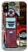 Gas Pump - Texaco Gas Globe IPhone Case
