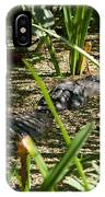 Gator Sunning IPhone Case