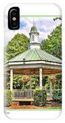 Gazebo In Willoughby Ohio IPhone Case