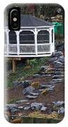 Gazebo On The Hill IPhone Case