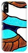 Geese In Flight IPhone Case