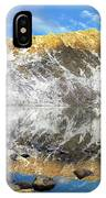Geissler Mountain In Linkins Lake IPhone Case
