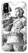 General Custer's Last Stand IPhone Case
