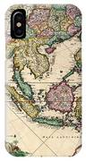 General Map Extending From India And Ceylon To Northwestern Australia By Way Of Southern Japan IPhone Case