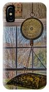 General Store Scale IPhone Case