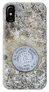 Geological Marker IPhone Case